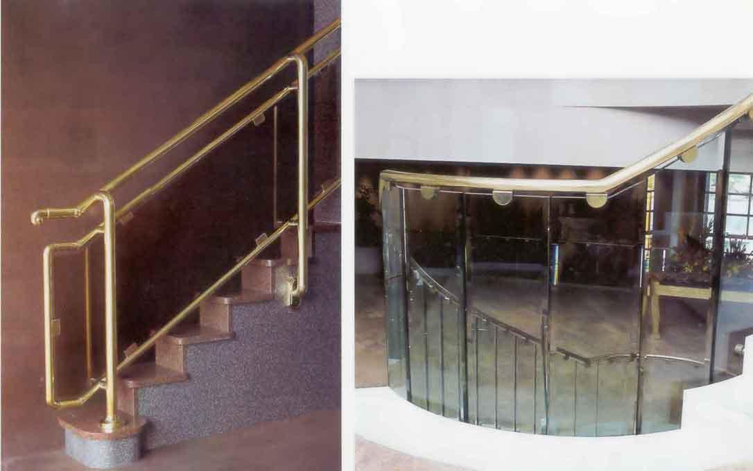 Barandas aluminio for Escaleras de aluminio para interiores