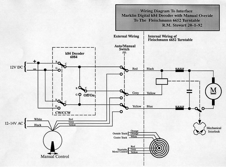 Turntable Wiring Diagram | Wiring Diagram on
