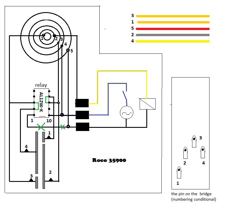 roco 35900 tt f9152 fleischmann turntable wiring diagram at mifinder.co