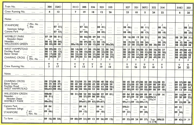 piccadilly line timetable