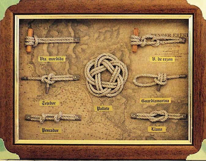 Cuadros de nudos marineros - Nudos marineros decorativos ...