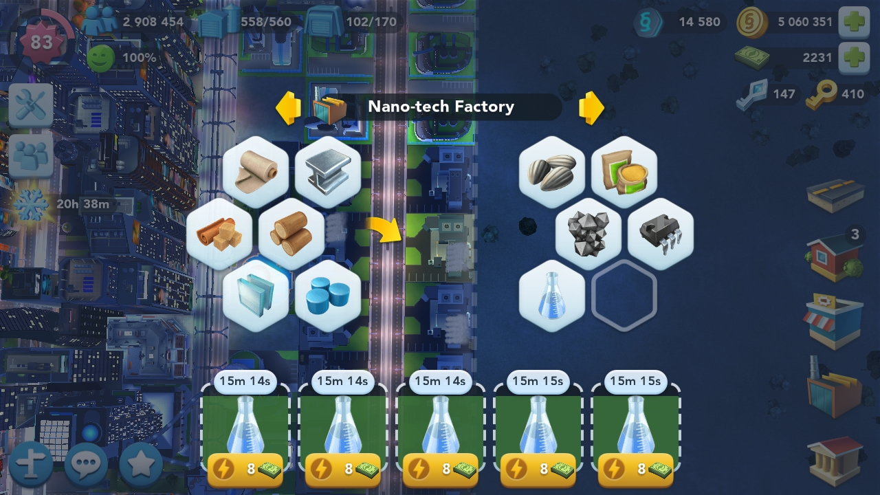 Sim City Android
